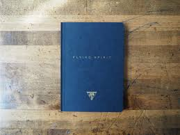 design home book clairefontaine flying spirit cloth bound notebook black a5 lined