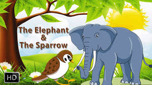 tales of panchatantra animated cartoons kids the elephant