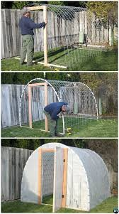 18 diy green house projects picture instructions cattle panels