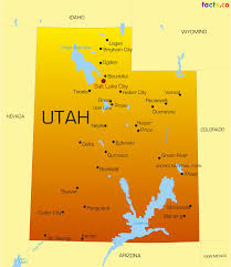 Arizona Map With Cities Utah Map Blank Political Utah Map With Cities