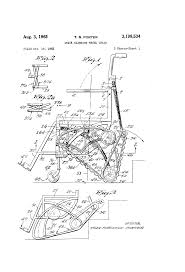 patent us3198534 stair climbing wheel chair google patents