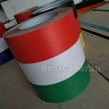 Car Bonnet Flags New Design Italy Flag Hood Stripes Car Stickers Decal For Bonnet