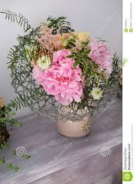 Peony Floral Arrangement by Peonies Floral Arrangement Stock Photo Image 81028517