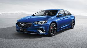 buick supercar 2018 buick regal gs first official images are out