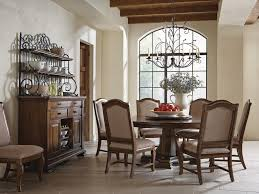 Pedestal Tables And Chairs Dining Room Portolone Stellia 72 Round Pedestal Table