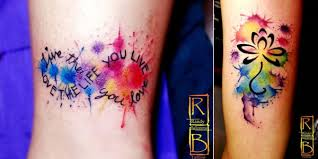 mytattooland com watercolor tattoos by randy ballesteros