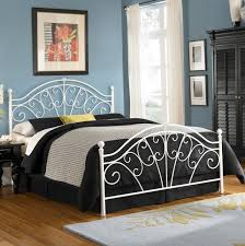 wrought iron queen headboard only home design ideas