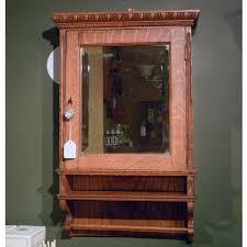 oak surface mounted medicine cabinet medicine cabinet antique