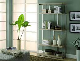 Ideas For Maple Bookcase Design Maple Reclaimed Wood And Silver Metal Bookcase With Five