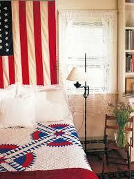 vintage country living a patriotic guest bedroom americana
