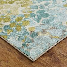Aqua Area Rug Latitude Run Myia Radiance Area Rug Reviews Wayfair