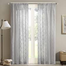 madison park irina diamond sheer window curtain ebay