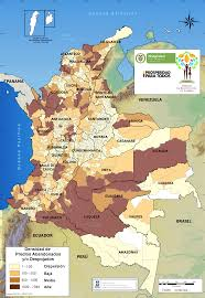 Columbia Map South America by Ending 50 Years Of Conflict In Colombia A New Report From Wola Wola