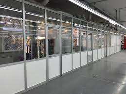 Separatori Ambienti by Produzione Pareti Divisorie Pannelli Divisori Vetro Alluminio
