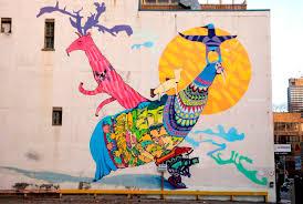 Mural Wall Art by Streetartoronto Transportation Living In Toronto City Of Toronto