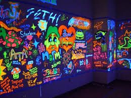 how to use black light paint black light room painting bedroom coltons blacklight how to