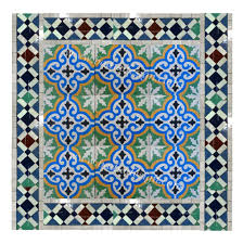 interesting moroccan tile backsplash painting with classic home