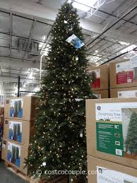 10ft christmas tree ge 12 pre lit led christmas tree