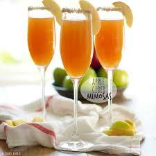 apple cider mimosa recipe apple cider cocktail