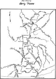 County Map Kentucky The Warriors Path
