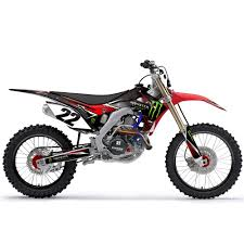 effex monster energy honda graphic kit