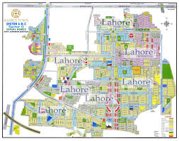 bahria town sector c map