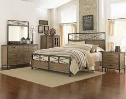 Wood And Iron Bedroom Furniture Metal And Wood Bedroom Sets Foter