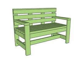 Wood Lawn Bench Plans by 15 Free Bench Plans For The Beginner And Beyond