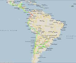 Latin And South America Map by Download Map Of South America And Mexico Major Tourist