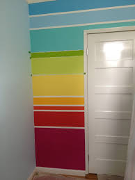how to paint a rainbow wall u2026 pinteres u2026