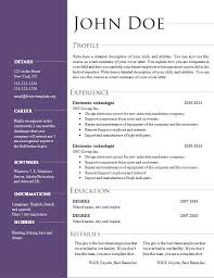 resume templates for openoffice resume template openoffice resume template for openoffice open