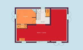 plan de maison plain pied 4 chambres devis plan construction maison individuelle à étage 4 chambres grand