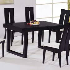 Modern Dining Room Sets For 6 Chair Round Black Glass Dining Table 4 Chairs Starrkingschool 6