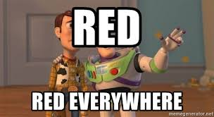 Everywhere Toy Story Everywhere Meme Generator - red red everywhere toys story everywhere meme meme generator