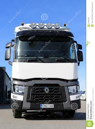 volvo long haul trucks renault t range truck for long haul editorial photo image 40066491