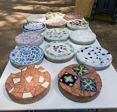 64 best stepping stones images on mosaic mosaic