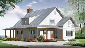 Modern Farmhouse Porch by Theyre Building Our Farmhouse Floor Plan Time To Build Plans 2500