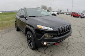 jeep cherokee black 2015 2015 jeep cherokee trailhawk 4x4 black 9 speed new jeep dealer
