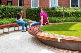 Design Garden Furniture London by Garden Bench Public Contemporary Wooden Guy U0027s U0026 St Thomas