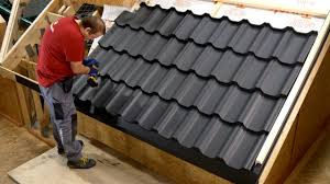 Metal Tile Roof Modular Metal Tile Installation
