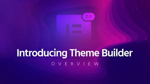themes builder 2 0 elementor theme builder pro 2 0 overview youtube