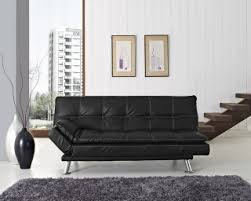 Black Sofa Bed by Leather Sofa Beds Buy Best Cheap Leather Sofa Beds
