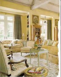 french country home living room by charles faudree antlers