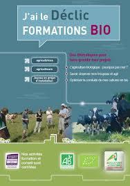 chambre d agriculture de bretagne ibb j ai le déclic formations bio formations proposées par les