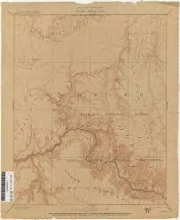 Grand Canyon Arizona Map by