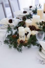 thanksgiving garland u0026 candle centerpiece fashionable hostess