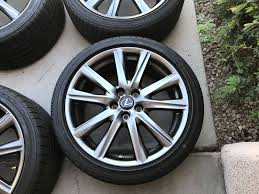 lexus es 350 las vegas nv 2013 2015 oem gs 350 f sport wheels tires clublexus lexus