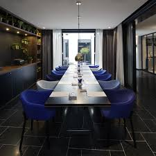 Dining Room At The Modern Meeting Rooms At Ink Hotel Amsterdam Mgallery By Sofitel