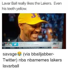 Yellow Teeth Meme - lavar ball really likes the lakers even his teeth yellow sdraft17