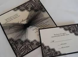 beautiful wedding invitations card designs with black border color